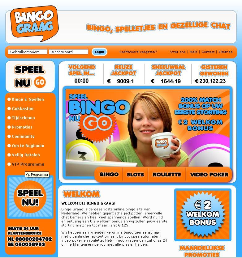Bingo Graag